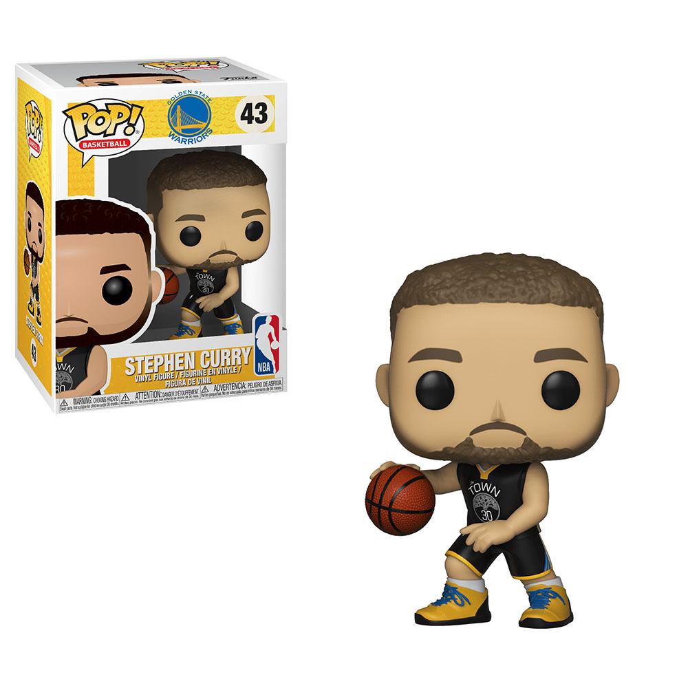 Funko POP NBA 大頭公仔 勇士隊 Stephen Curry