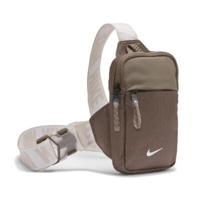 Nike 斜背包 Essentials Hip Pack NSW 外出 輕便 小包 穿搭 棕 米 BA5904040