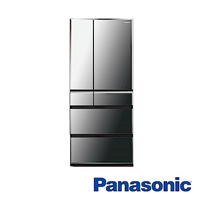 [無卡分期12期]Panasonic國際牌 六門電冰箱 NR-F672WX-X1 日本製
