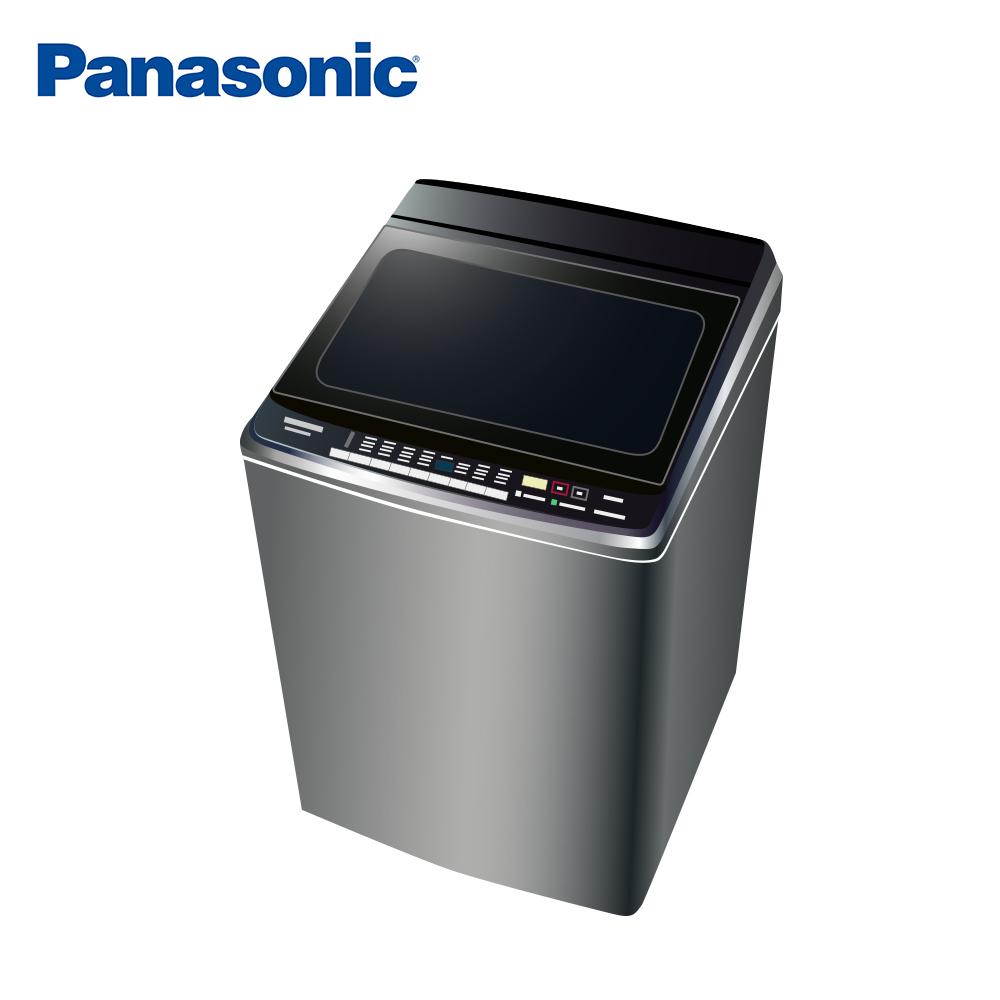 [無卡分期-12期]國際牌 16公斤 直立式 變頻洗衣機 NA-V160GBS-S 不銹鋼