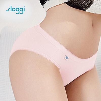 sloggi Comfort系列中腰小褲 粉紅色系 C76-802 WM