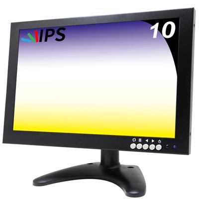 奇巧 10吋多功能IPS LED寬螢幕液晶顯示器(AV、BNC、VGA、HDMI、USB)