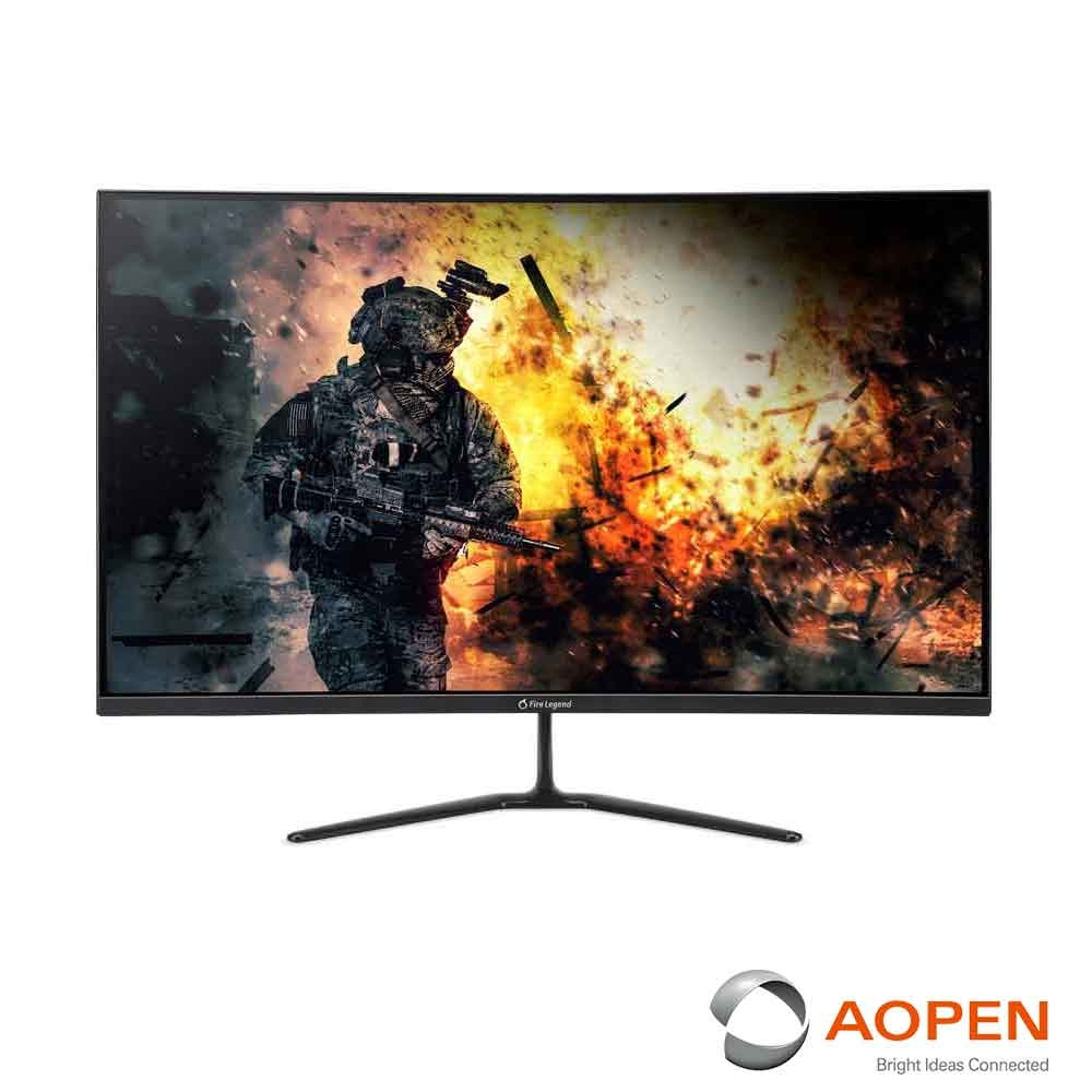 AOPEN 32HC5QR P 32型曲面電腦螢幕 支援FreeSync 165Hz刷新