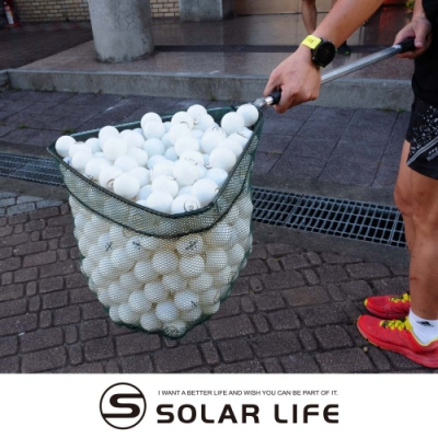 折疊式桌球撿球器.乒乓球伸縮撈球網 容量410球 掃球集球器