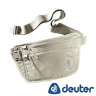 【ATUNAS 歐都納】德國DEUTER貼身隱藏式腰包3910216卡其/旅遊防竊隨身配件
