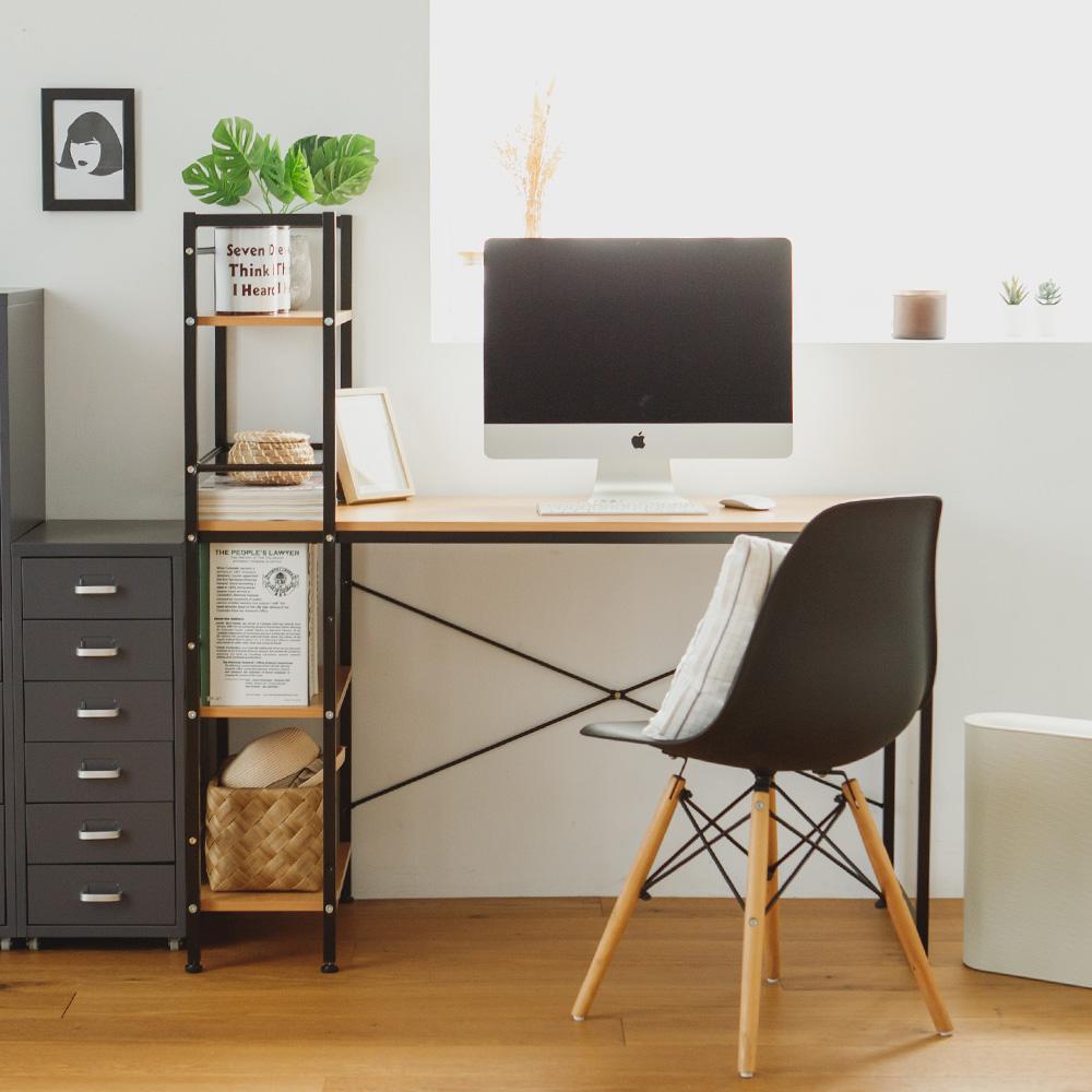 完美主義 工作桌/電腦桌/書桌/層架(2色)-120x48x70 product image 1