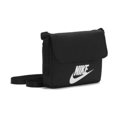 Nike 斜背包 NSW Revel Shoulder Bag 小包 外出 輕便 百搭 方包 背帶可調 黑 白 CW9300010