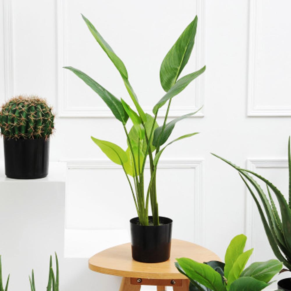 【Meric Garden】北歐風格居家裝飾高仿真大型景觀植栽擺設盆栽(旅人蕉L)