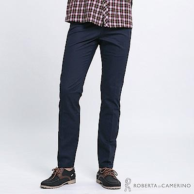 ROBERTA諾貝達 都會休閒 合身版西裝褲 深藍