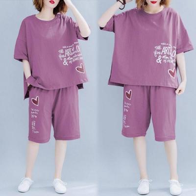 【韓國K.W.】(預購)質感生活寛鬆套裝褲-3色