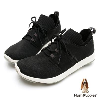 Hush Puppies Bounce Max 高效彈力男休閒鞋-黑色