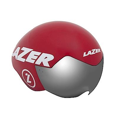 【LAZER】VICTOR 三鐵/計時安全帽 紅