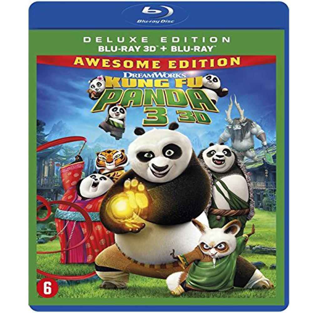 功夫熊貓3 (3D+2D 雙碟限定版) 藍光 BD