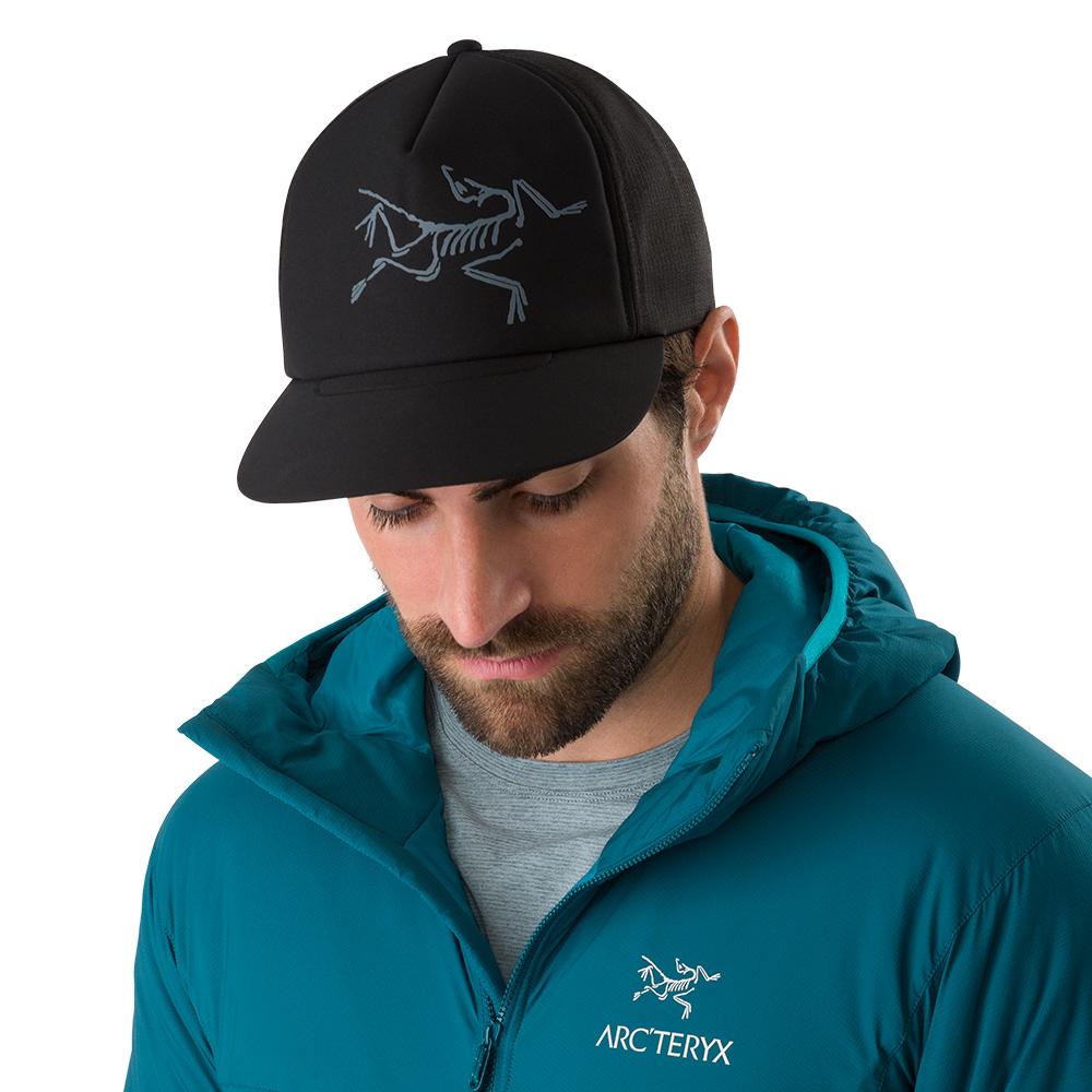 Arcteryx 始祖鳥 LOGO 網帽 黑