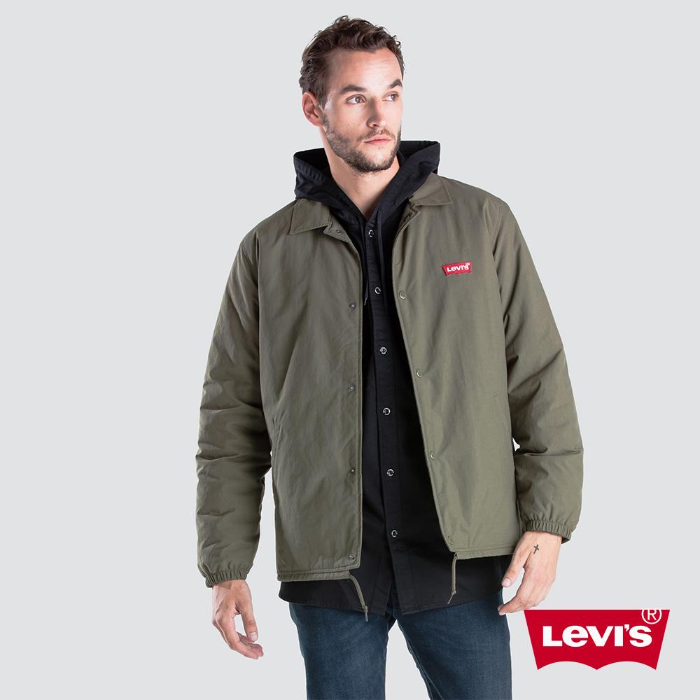 Levis 男款 鋪棉外套 布章Logo