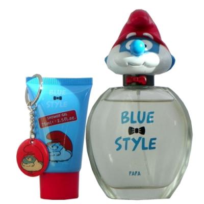 The Smurfs Papa Eau 精靈老爹淡香水 100ml 搭贈雙贈品 無外盒包裝