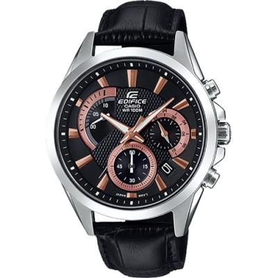CASIO 卡西歐 EDIFICE 競速計時手錶(EFV-580L-1A)