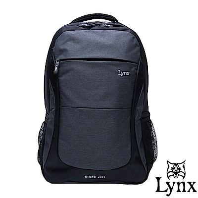 Lynx - 山貓商務休閒款機能筆電後背包-共2色