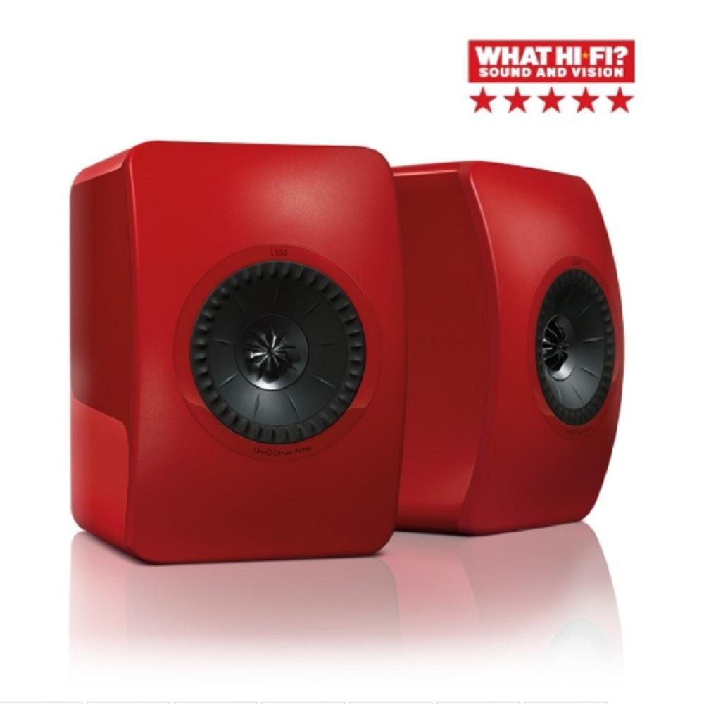 英國 KEF LS50 旗艦Hi-Fi小型精巧監聽揚聲器喇叭