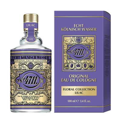 4711 Floral collection 花卉系列 紫丁香古龍水100ml