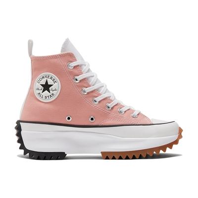 CONVERSE RUN STAR HIKE HI 高筒 女 三色拼接 厚底 舒適 休閒鞋 粉紅色-170968C
