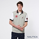 Nautica 國家隊短袖POLO衫-灰色