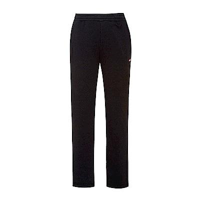 FILA 男款針織長褲-黑 1PNS-5409-BK