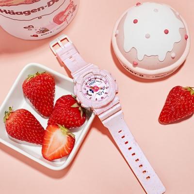 CASIO 卡西歐 Baby-G 莓果冰淇淋手錶(BA-110PI-4A)