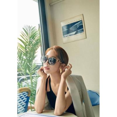 SWAROVSKI 廣告款 水鑽 太陽眼鏡(黑色)SK242K
