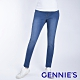 Gennies奇妮-彈力刷色窄管牛仔褲-淺藍(T4H18) product thumbnail 1