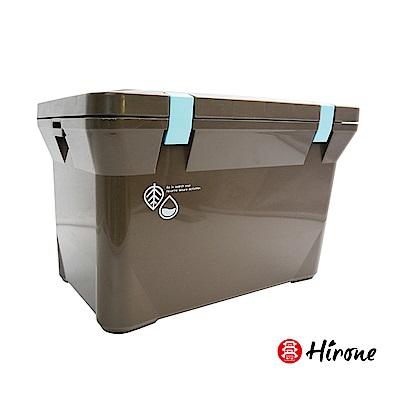 日本Hirone 繽紛假日便攜式大容量戶外冰桶15L 摩卡棕(快)