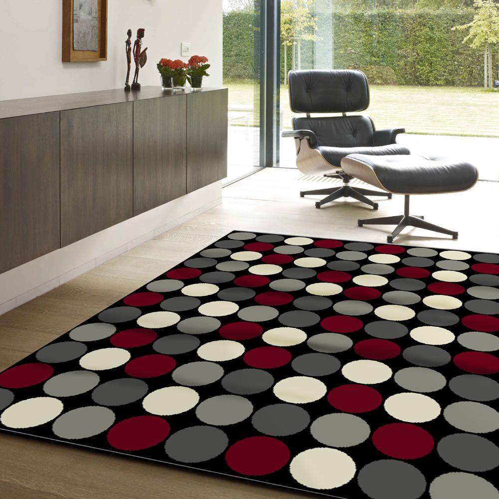 范登伯格 - 幾何 進口地毯 - 霓虹 (140 x 200cm)