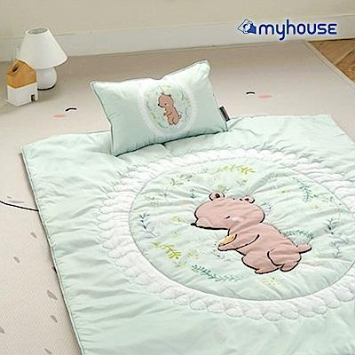 【BabyTiger虎兒寶】Myhouse  韓國防蟎兒童睡袋 - 經典熊