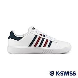 K-SWISS Pershing Court CMF休閒運動鞋-男-白/紅