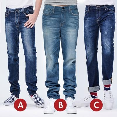 [時時樂限定]BRAPPERS 男款 經典直筒褲(三款選)