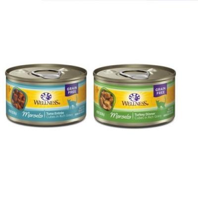 WELLNESS寵物健康-全方位厚切肉塊主食罐-3OZ(85g) 12罐組