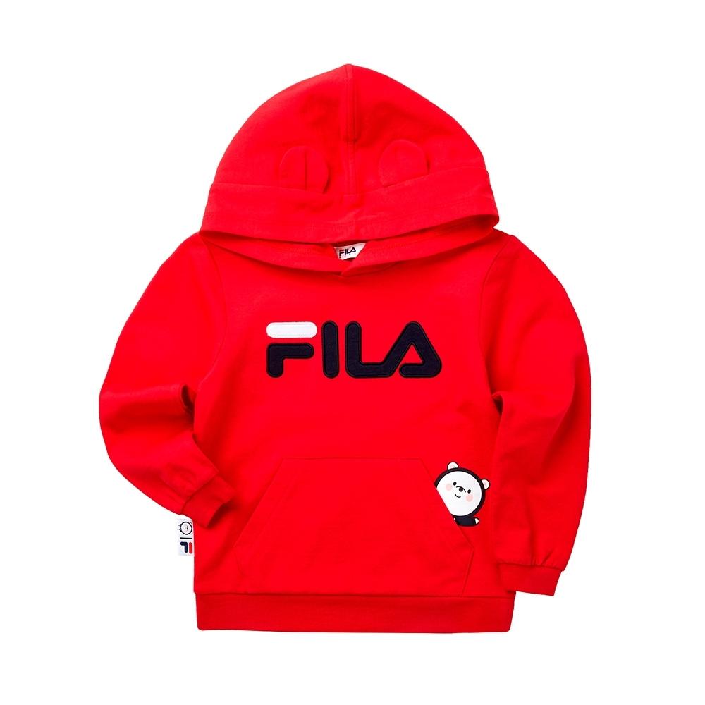 FILA KIDS #WONNIE系列小童帽TEE-紅色 1TET-8457-RD