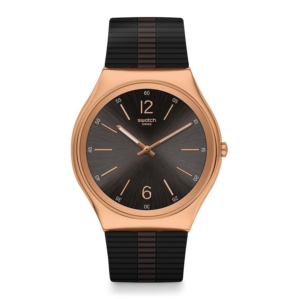 Swatch Skin Irony 42 超薄金屬手錶 比爾之夜-42mm