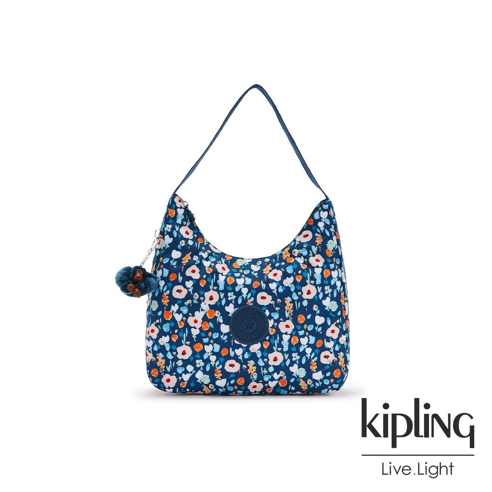 Kipling 牧場彩繪風格拉鍊造型開口手提肩背包-ISIDORA