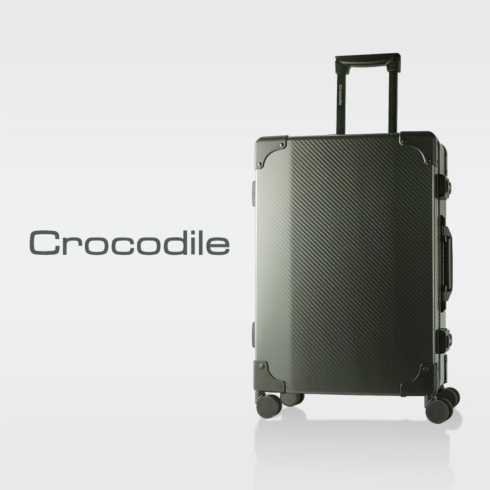 Crocodile 碳纖紋窄鋁框箱含TSA-騎士黑-20吋 0111-07020-01 @ Y!購物