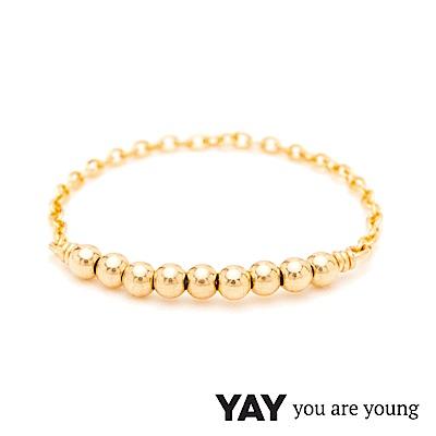 YAY You Are Young 法國品牌 Fruit Dor 雅果尾戒 迷你款 金