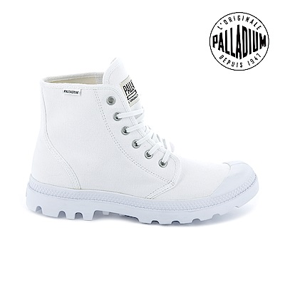 Palladium Pampa Hi ORIGINALE慢跑鞋-男-白
