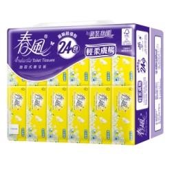 春風抽取衛生紙輕柔膚觸100抽x24包x3串/箱