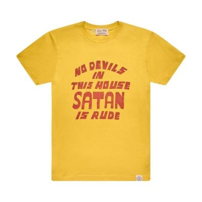 Deus Ex Machina  Bad Manners Tee T恤-(黃)