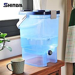 【nicegoods】日本製 Shinwa 可攜式分享水壺19L