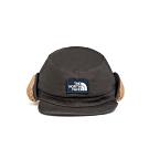 The North Face北面男女款黑色保暖復古飛行員帽|3FGNZLY