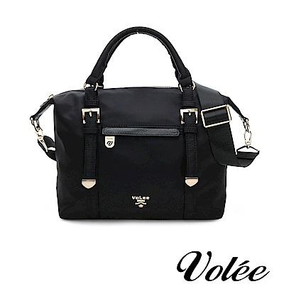 Volee好旅行系列隨行方形多用肩背包-德國黑