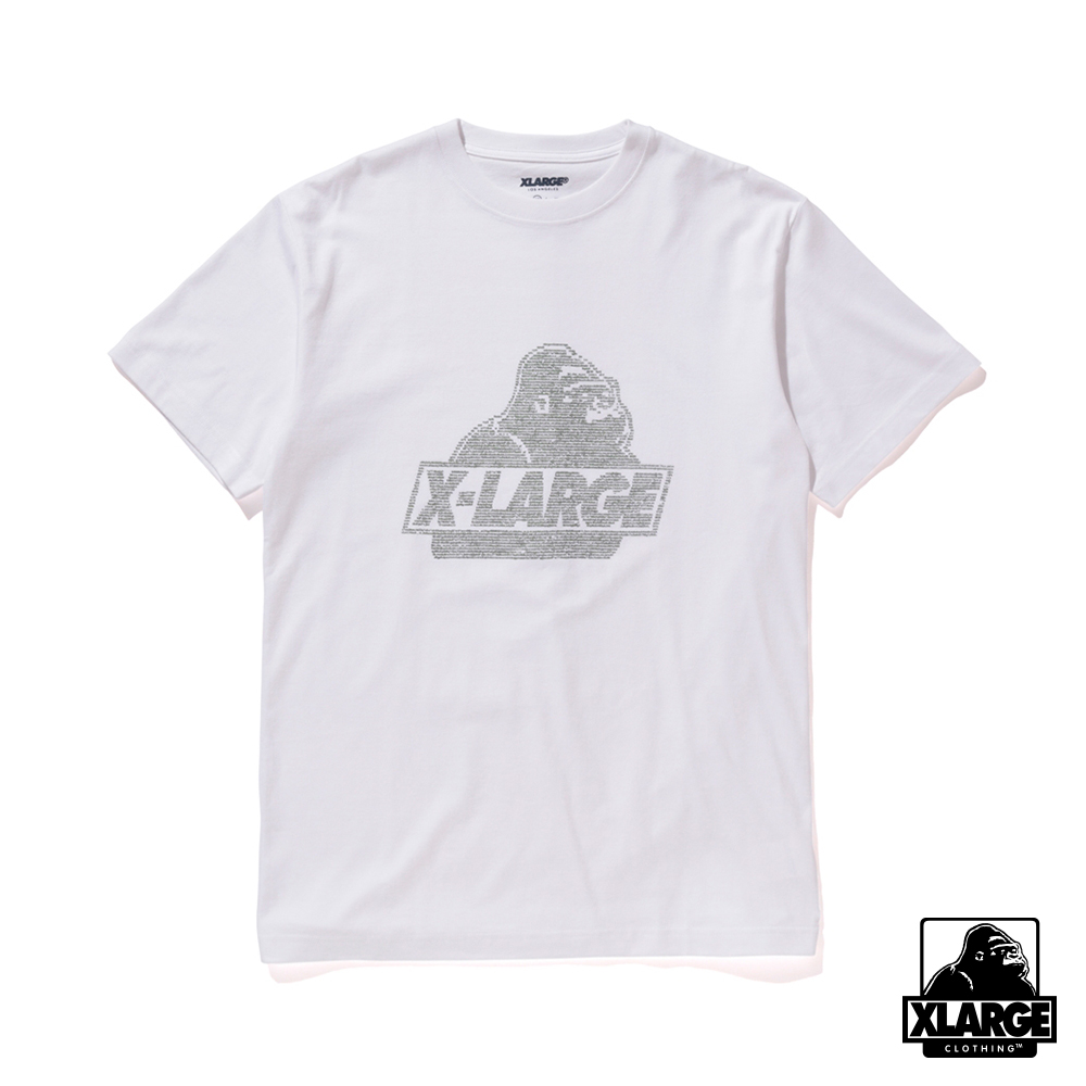 XLARGE S/S TEE NUMBER OLD O 短袖T恤-白
