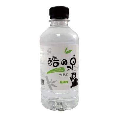 【心一】酷之泉竹炭水280ml (24入/箱)