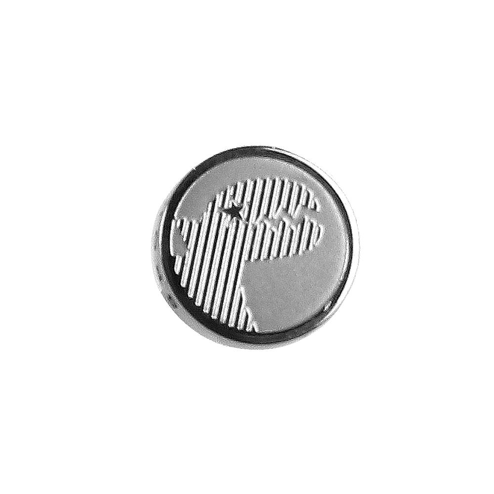 agnes b. - Sport b. 恐龍造型貼耳式單耳耳環(中性)(銀)